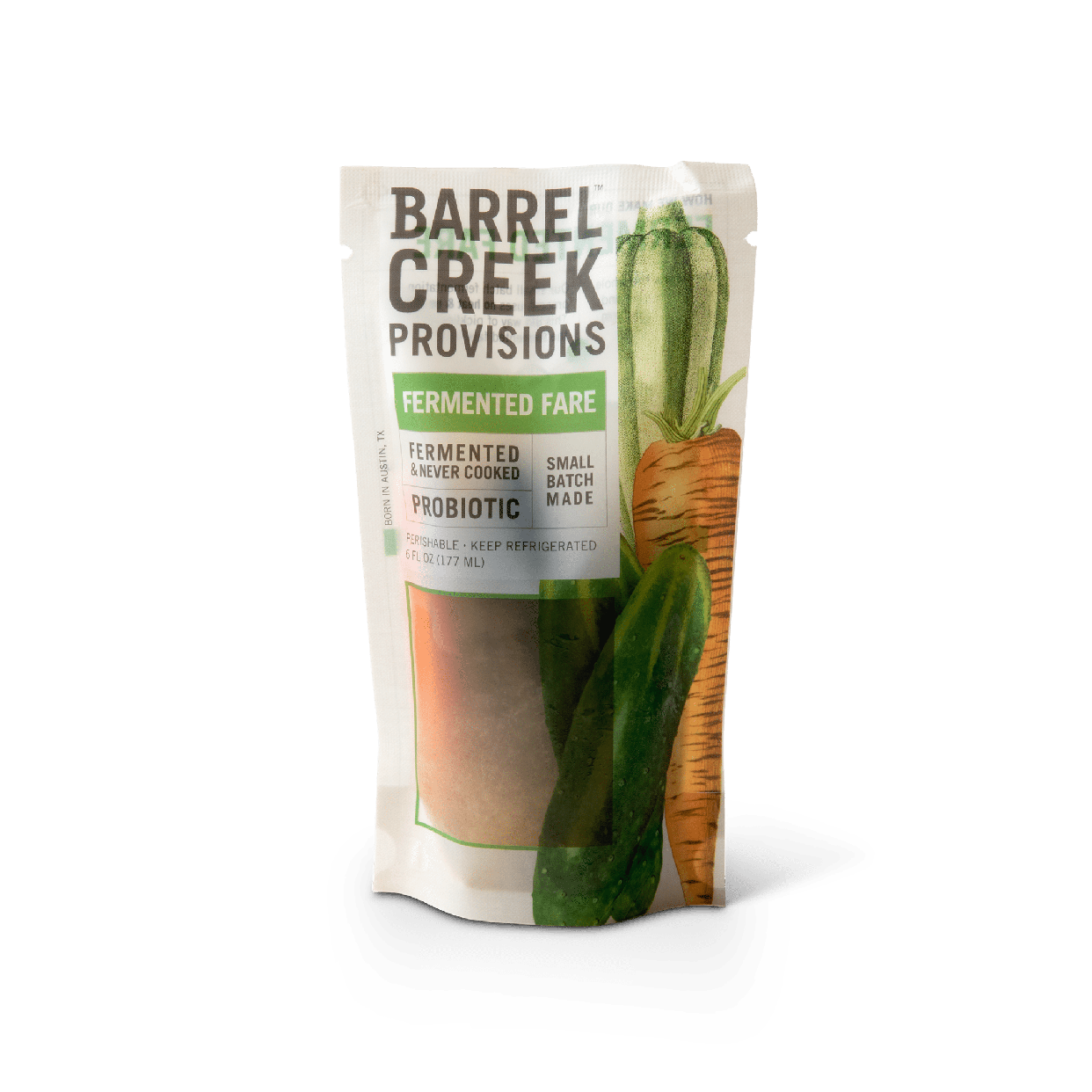 barrel creek provisions - fermented fare