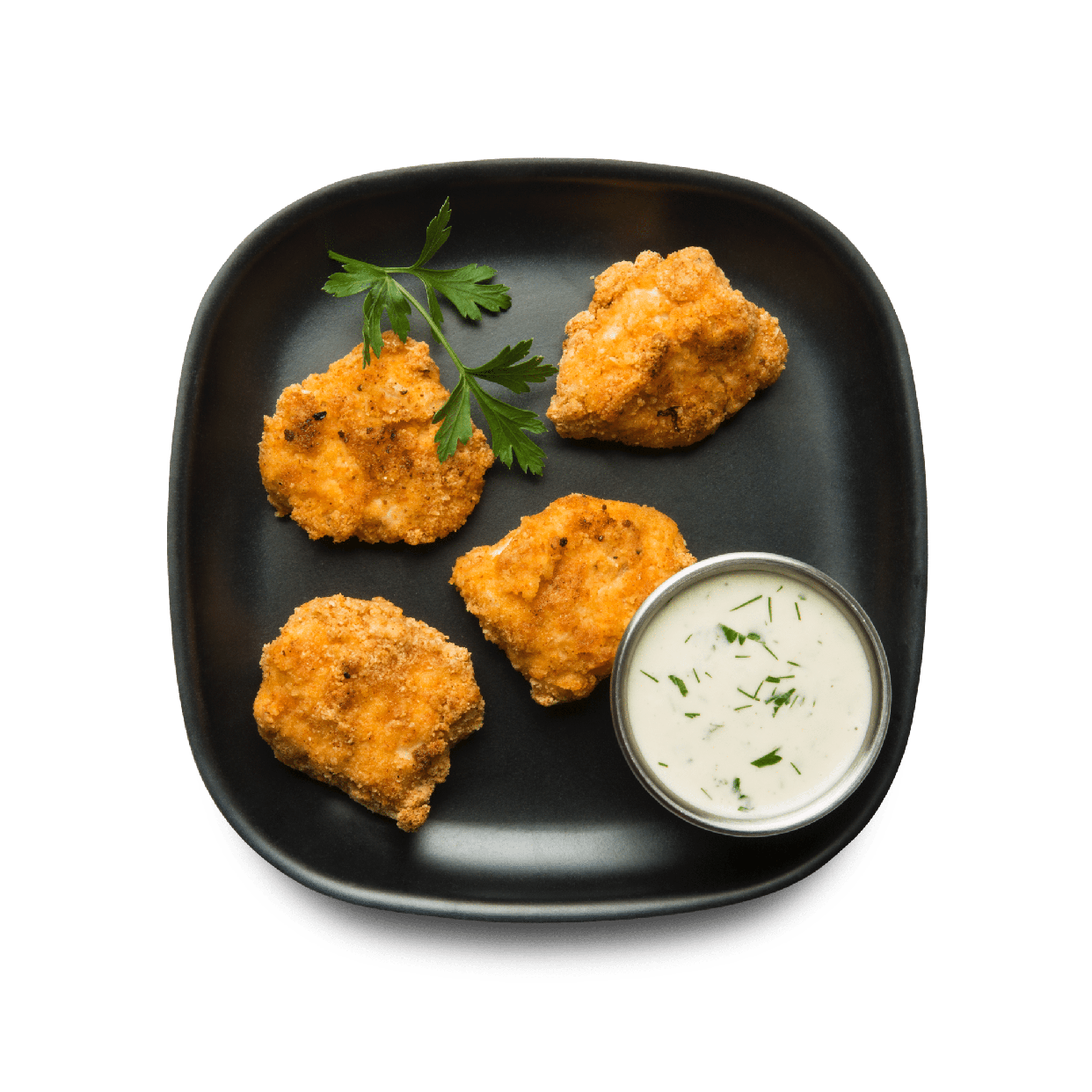 chicken nuggets with ranch