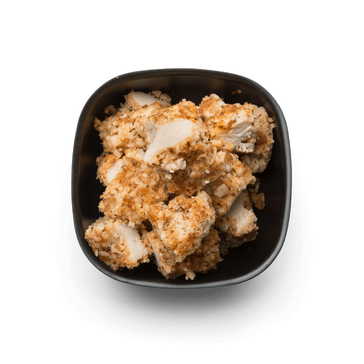 chopped almond crusted chicken