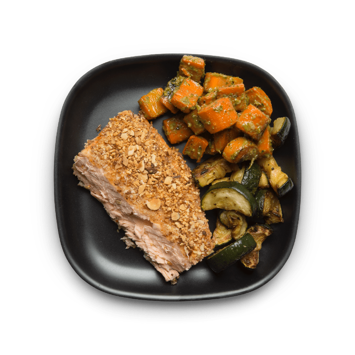 crispy scottish salmon