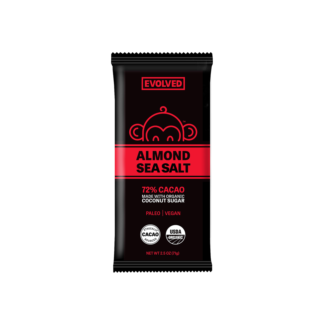eating evolved almond & sea salt