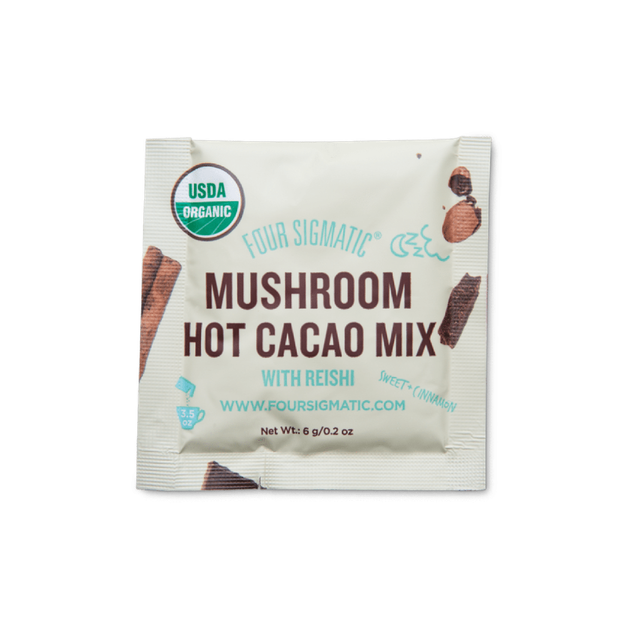 four sigmatic - hot cacao mix with reishi mushroom (packet)