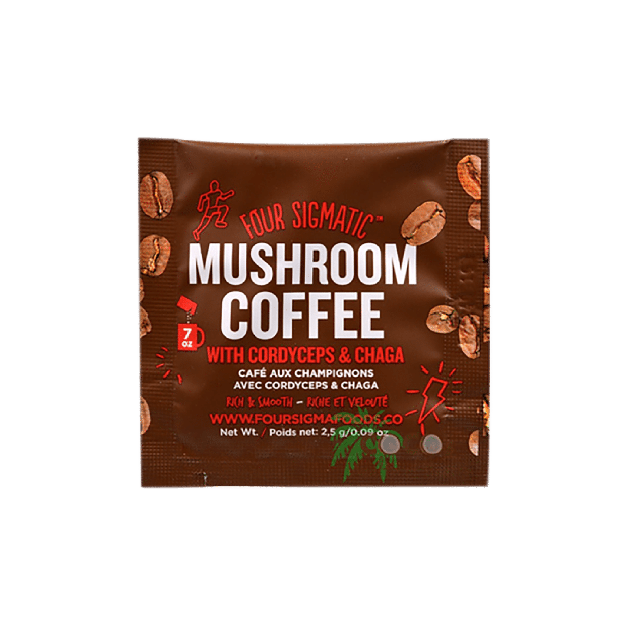 four sigmatic - mushroom coffee mix (packet)