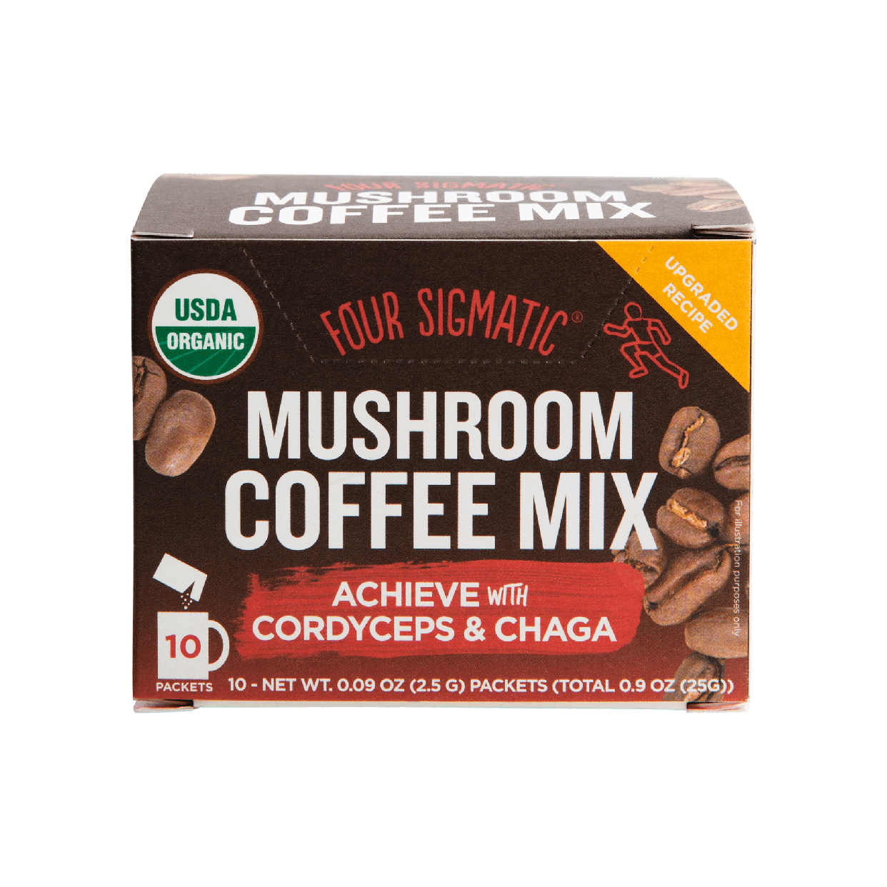 four sigmatic - mushroom coffee mix with cordyceps (box)