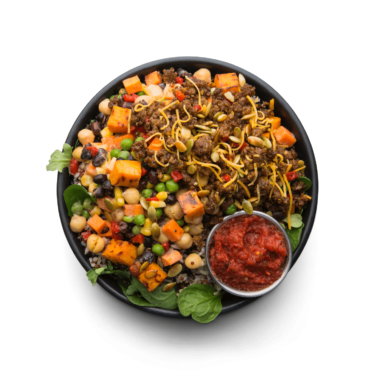 grass fed beef taco hash  snap kitchen  gluten free