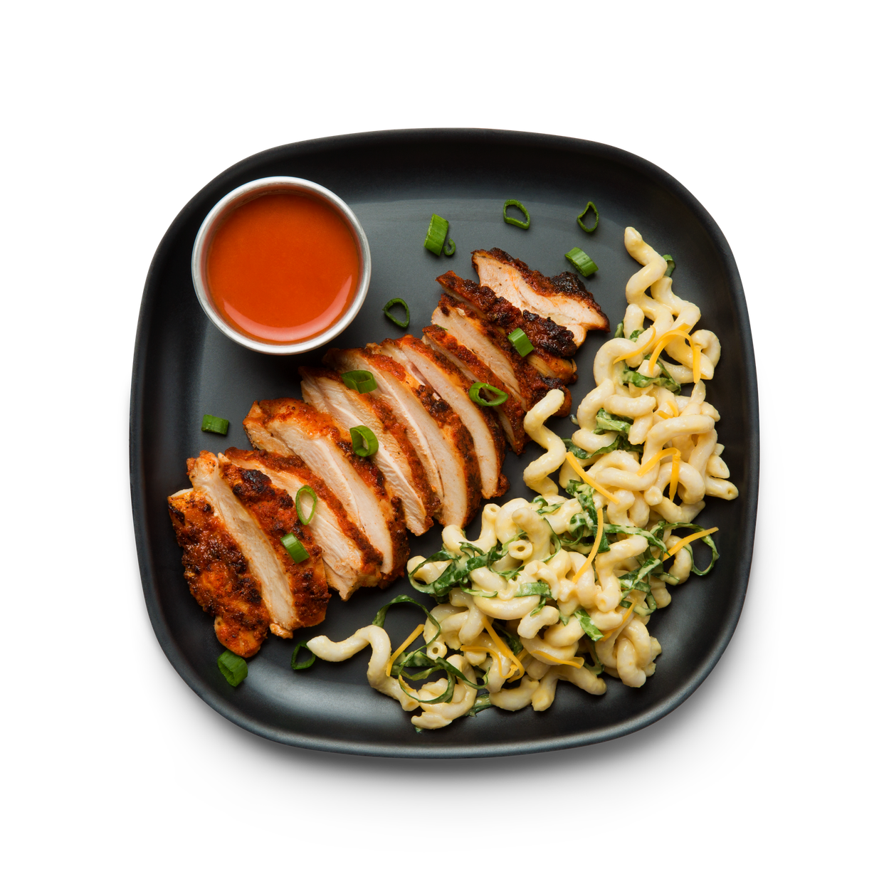 Lunch dinner snap kitchen hot chicken with fusilli cheese forumfinder Images