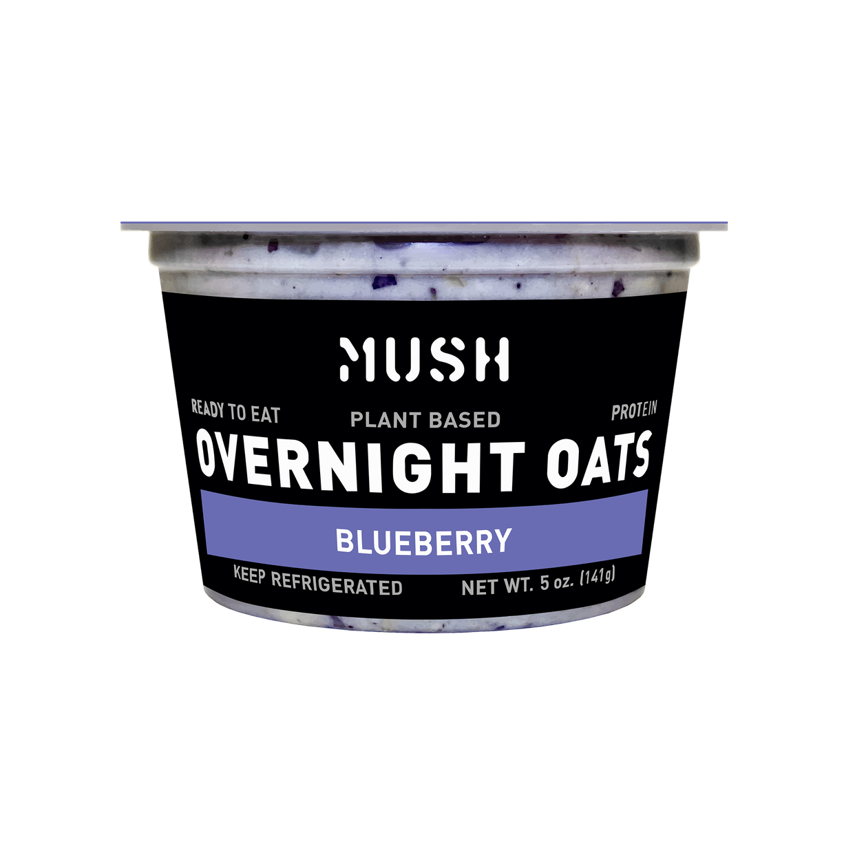mush - blueberry