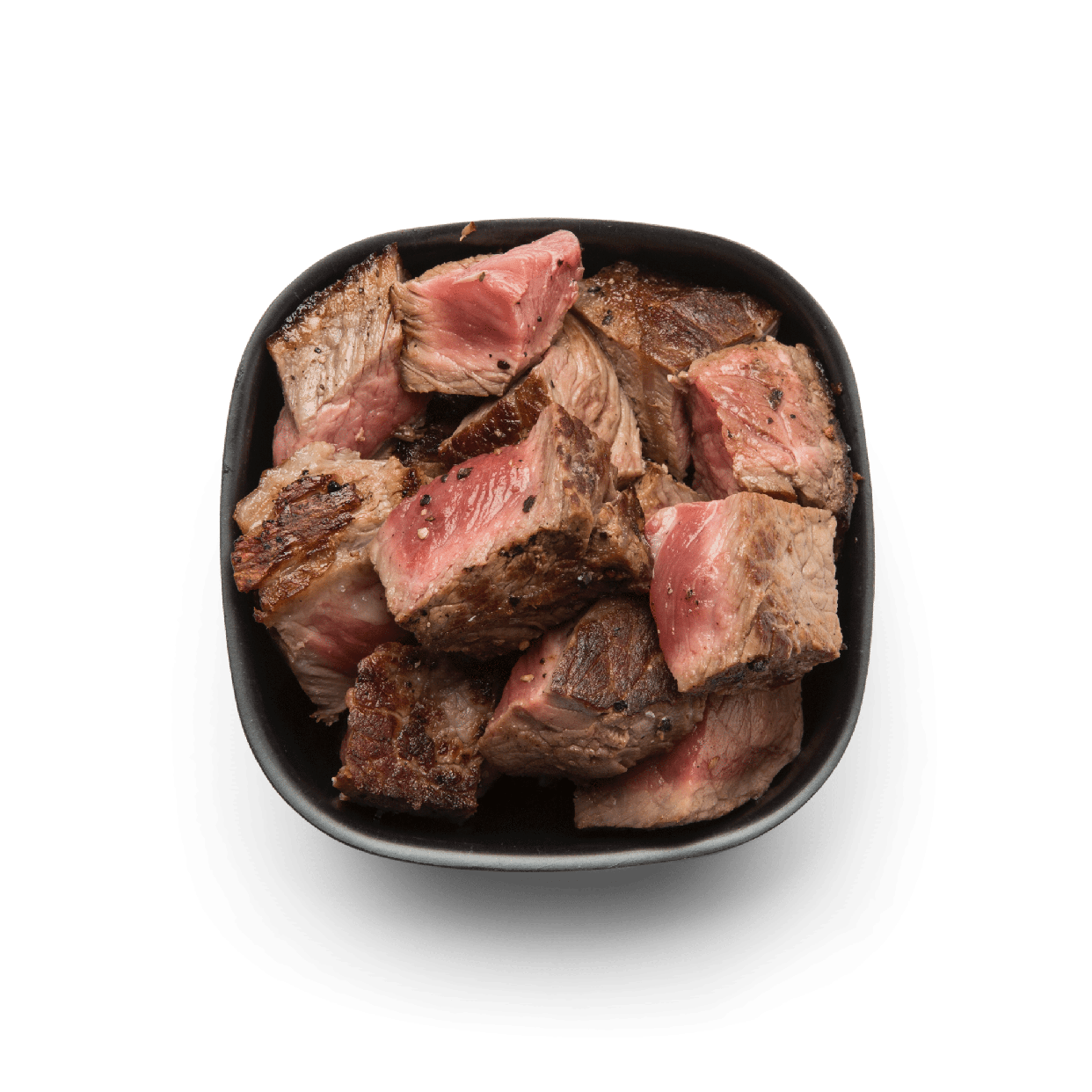 seasoned grilled steak