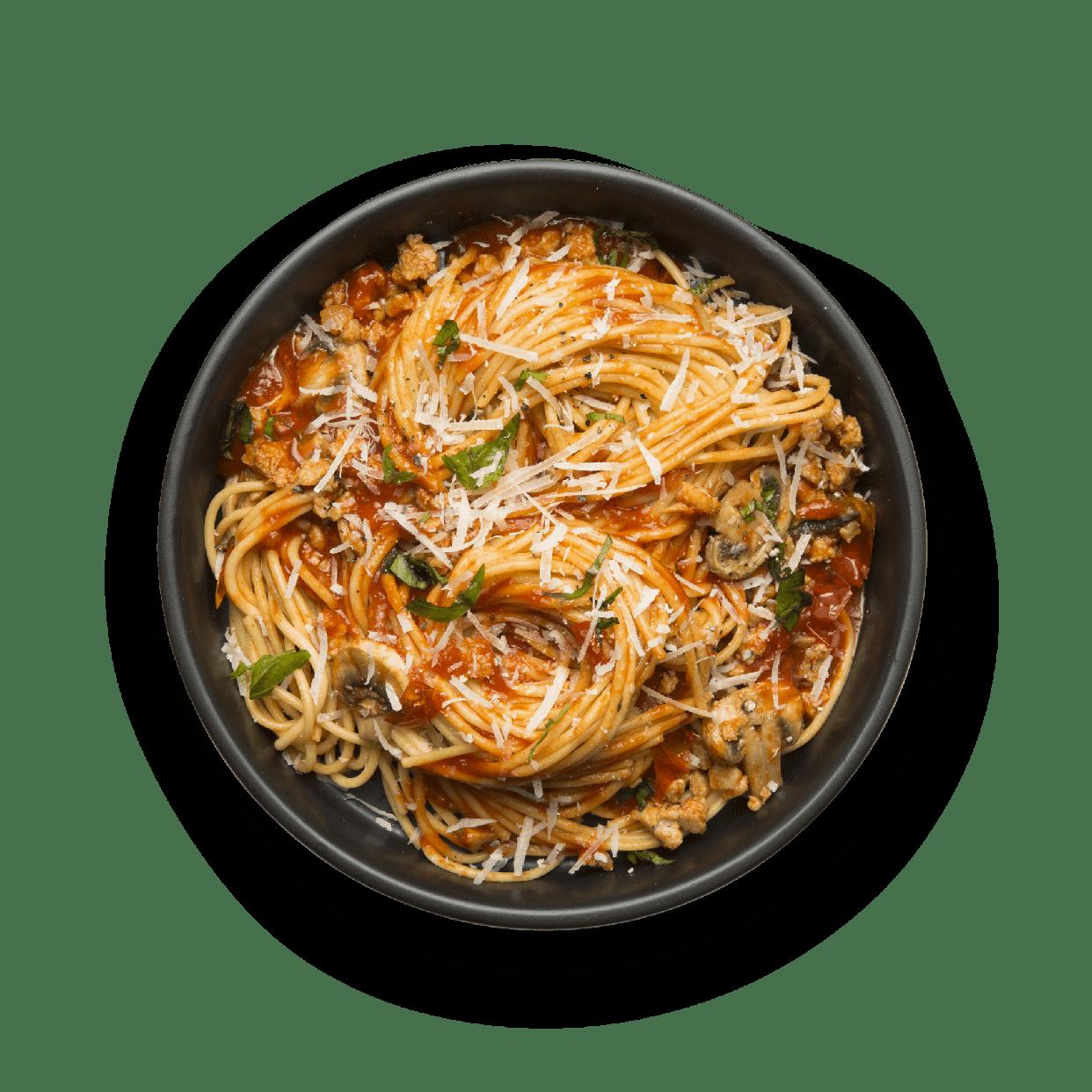 Spaghetti Turkey Bolognese Snap Kitchen Gluten Free
