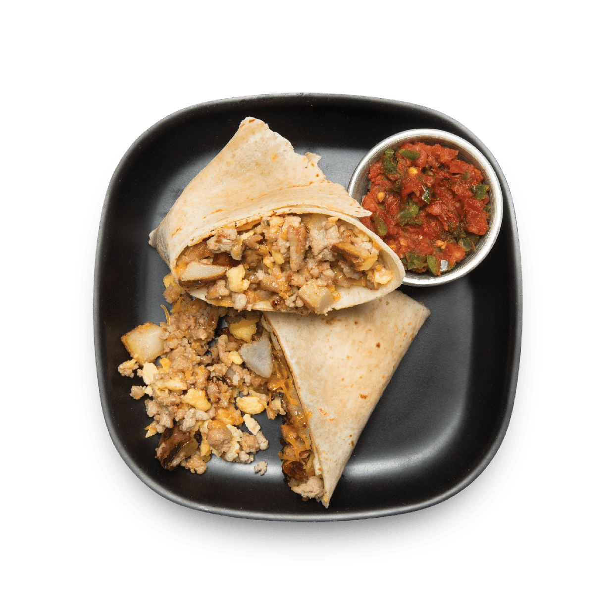 tex mex breakfast wrap