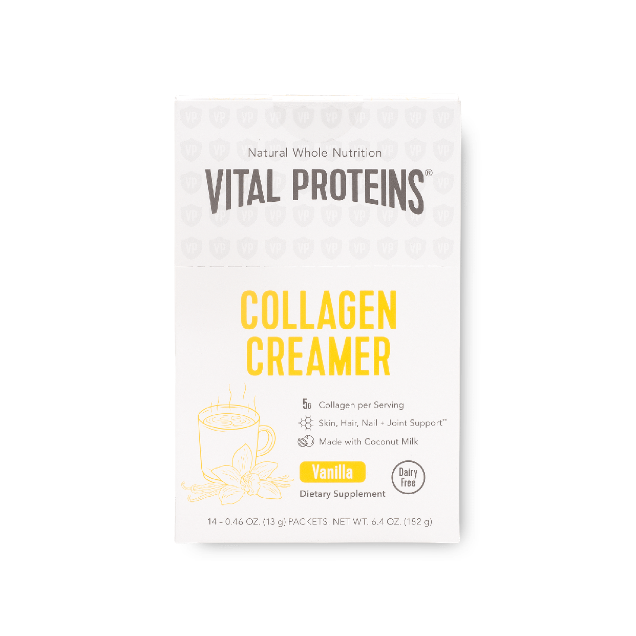 vital collagen vanilla coconut creamer 14ct box