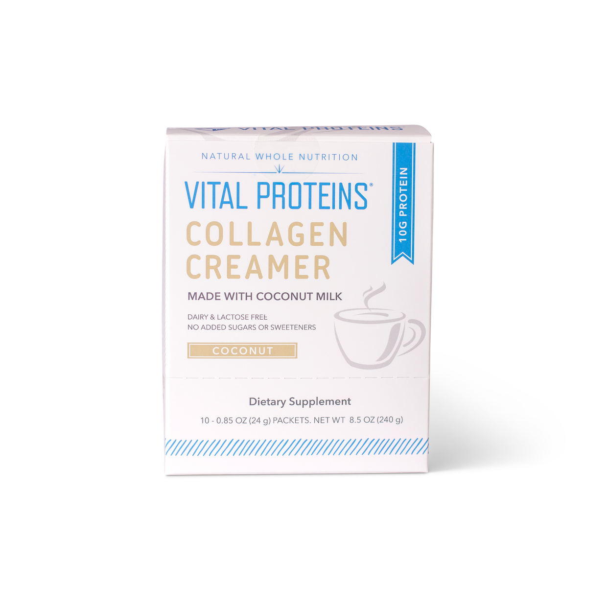 vital proteins coconut creamer 10ct box